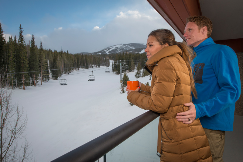 Enjoy Balcony Views at Beaver Run Resort Breckenridge