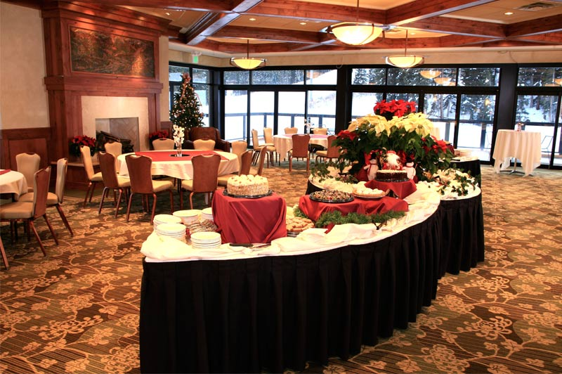 Buffet in The Imperial Ballroom at Beaver Run Resort in Breckenridge