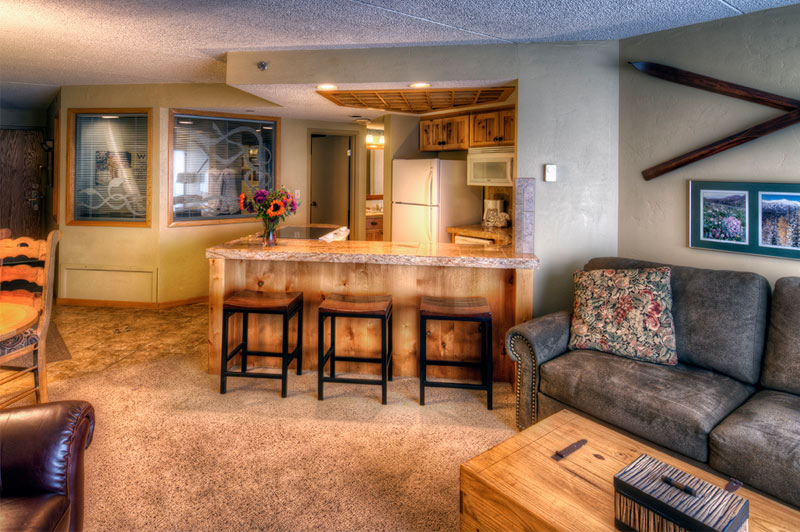 Building 4 Living Area at Beaver Run Resort Breckenridge