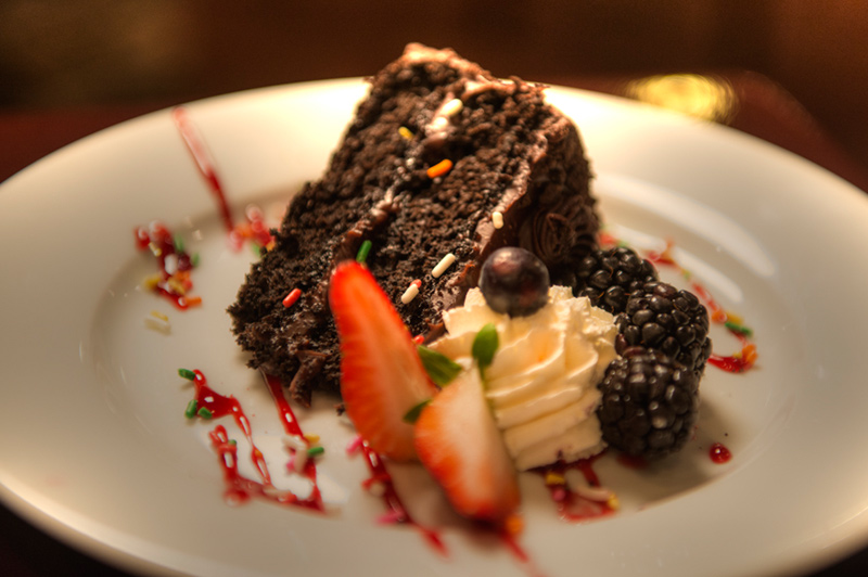 Excellent Desserts at Beaver Run Resort in Breckenridge