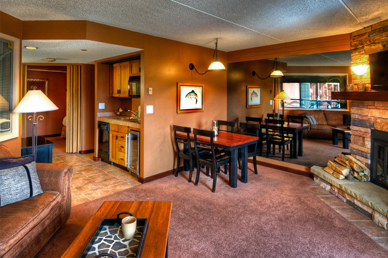 Colorado Suite Kitchenette at Beaver Run Resort Breckenridge