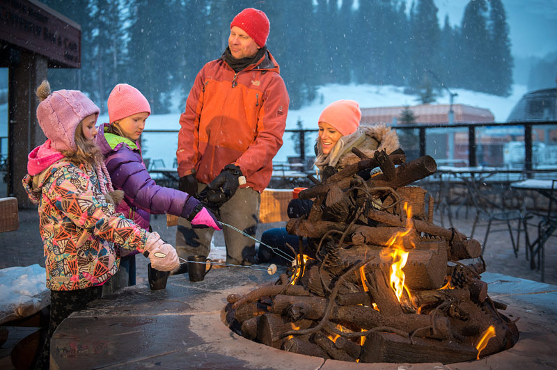 Roast Marshmallows over Spencer's Firepit at Beaver Run Resort Breckenridge