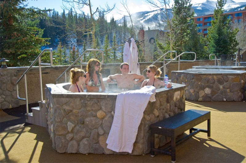 Hot Tubs at Beaver Run Resort Breckenridge