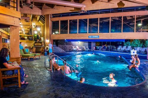 Indoor/Outdoor Pool Building 3 at Beaver Run Resort Breckenridge
