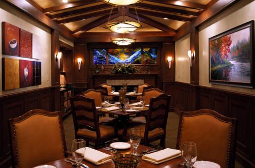 Private Dining Spencer's at Beaver Run Resort Breckenridge