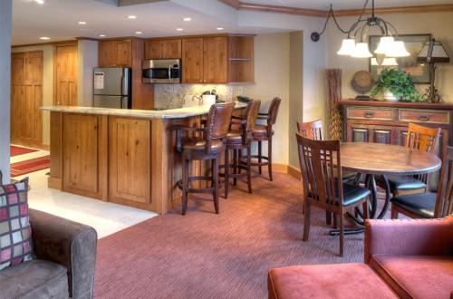 Summit Suite Kitchen and Living Room at Beaver Run Resort Breckenridge