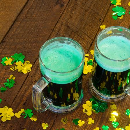 Green Beer and Shamrocks