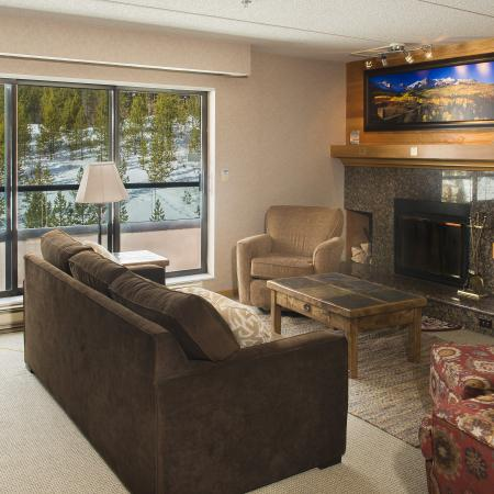 Living Area in a One Bedroom Suite