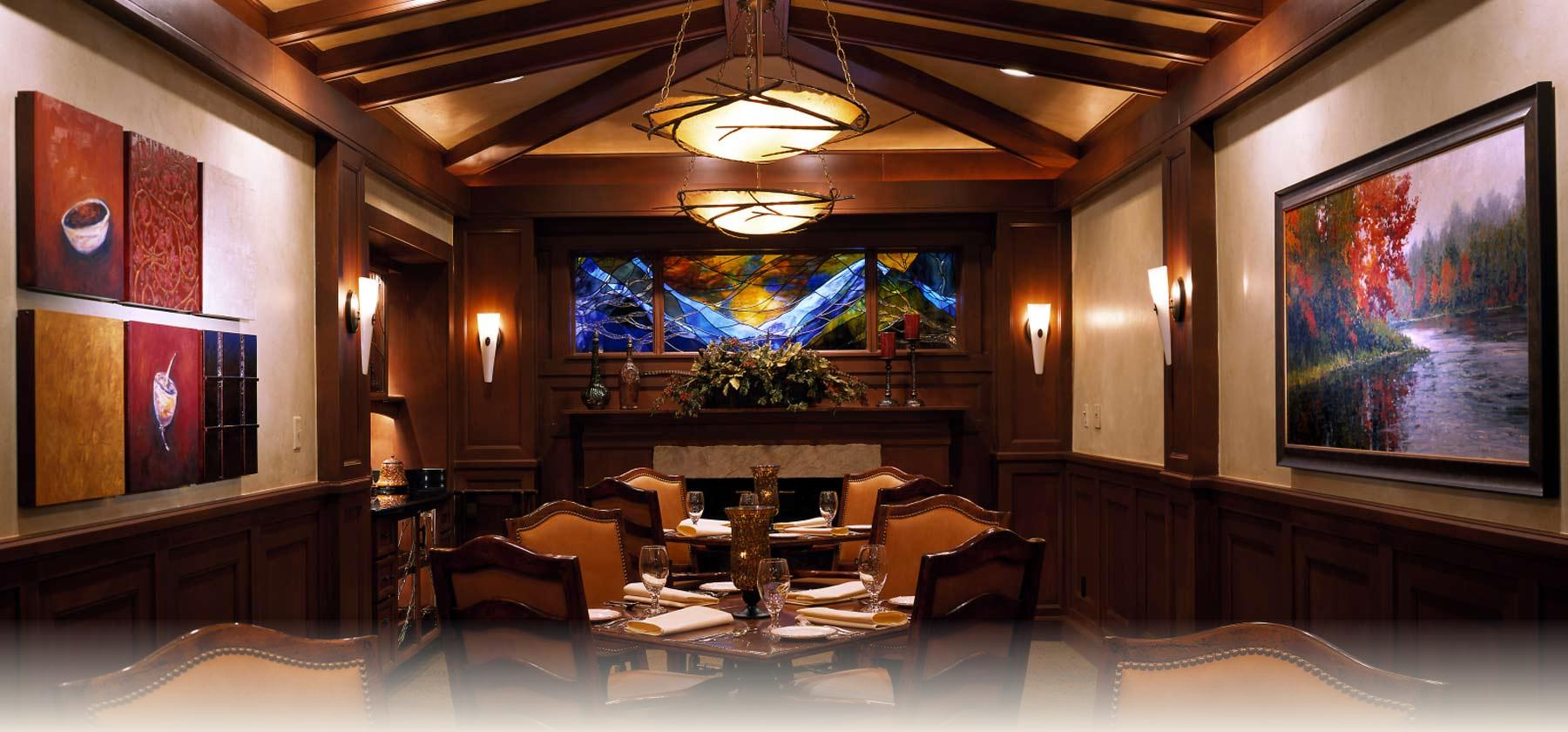 Spencers Private Dining Room at Beaver Run Resort in Breckenridge Colorado