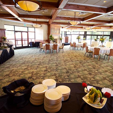 Imperial Ballroom with Buffets
