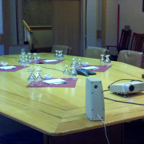 Mercury Boardroom at Beaver Run Resort Conference Table