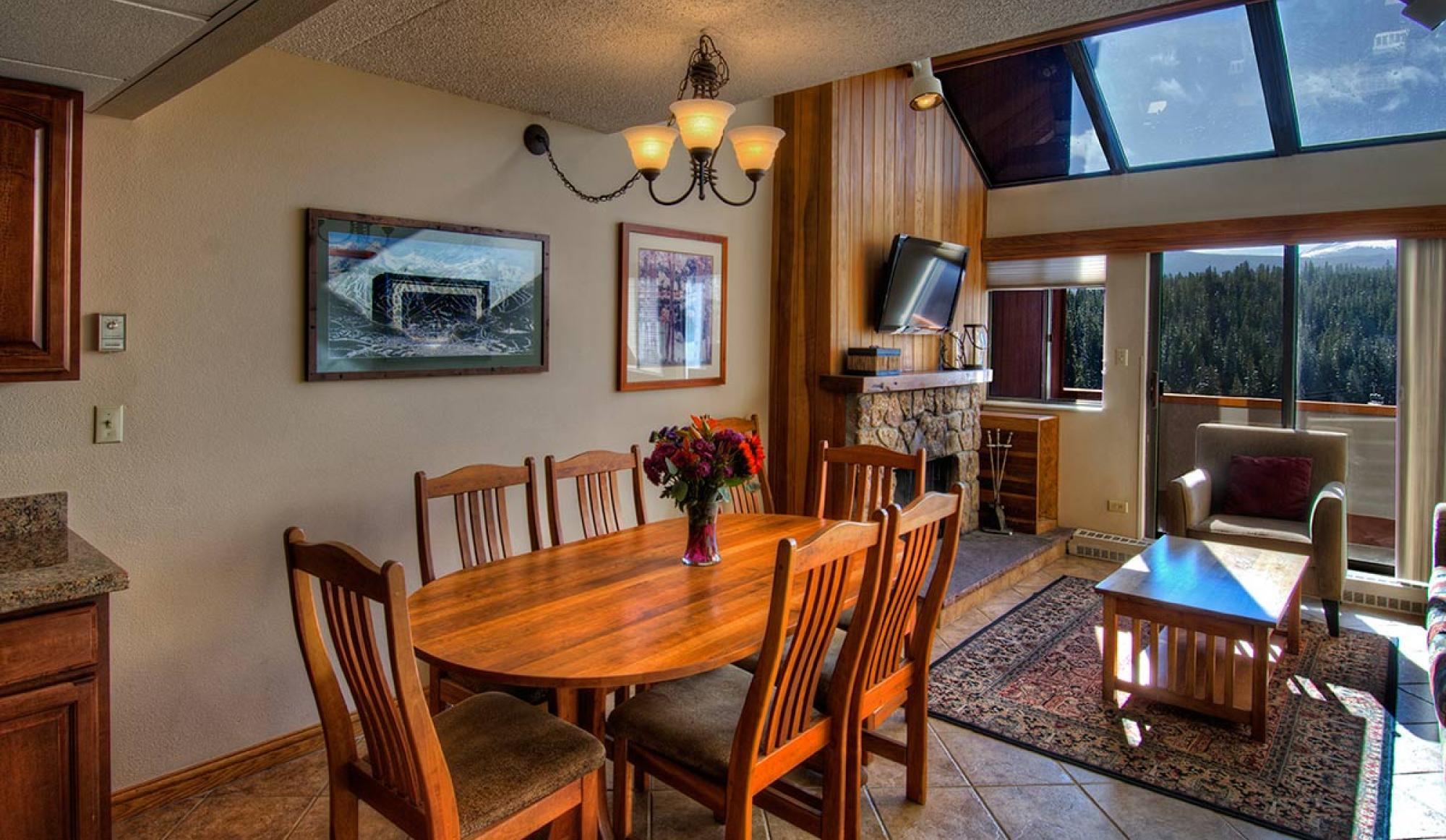 2 Bedroom Suite Living Room at Beaver Run Resort in Breckenridge