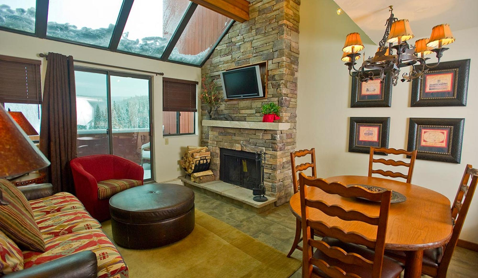 2 Bedroom Suite Living Area at Beaver Run Resort in Breckenridge