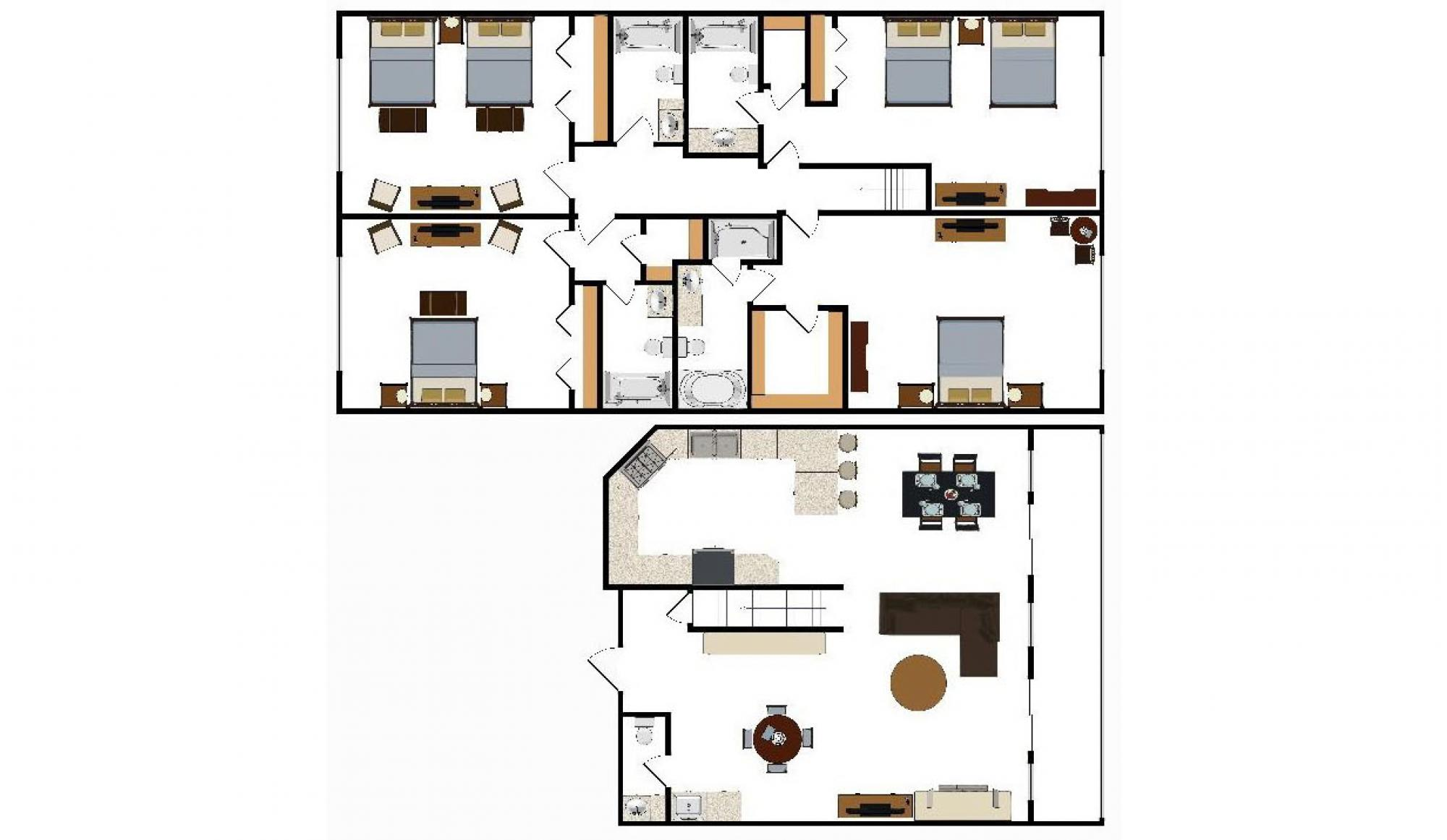 Alpenglow Executive Suite in Breckenridge Floor Plan