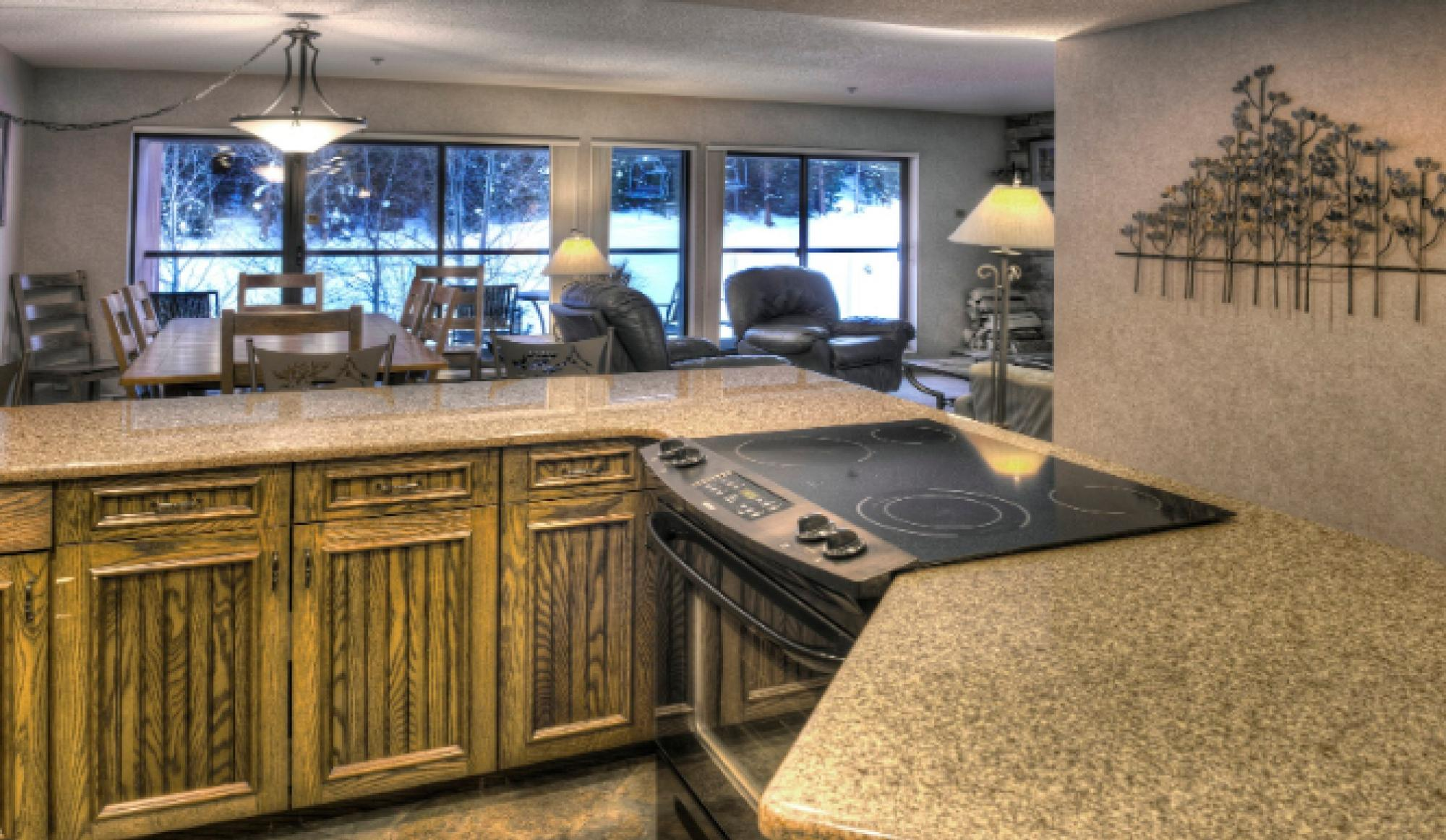 Beaver Run Resort Corporate Suite Kitchen in Breckenridge