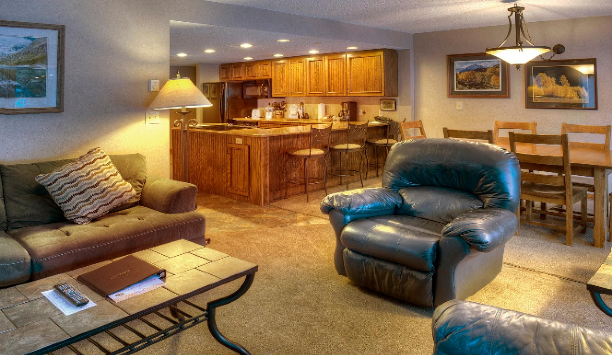 Beaver Run Resort Corporate Suite Living Room in Breckenridge