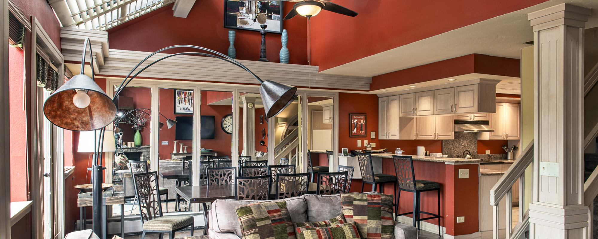 Beaver Run Resort's Imperial Suite's Spacious Living Rooms and Kitchen