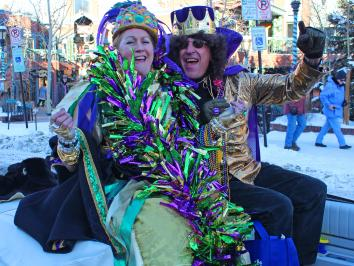 Breckenridge Mardi Gras Fat tuesday
