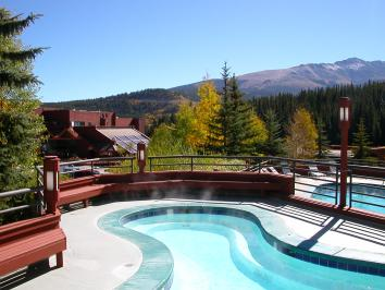 Fall in Breckenridge, Colorado, from Beaver Run Resort