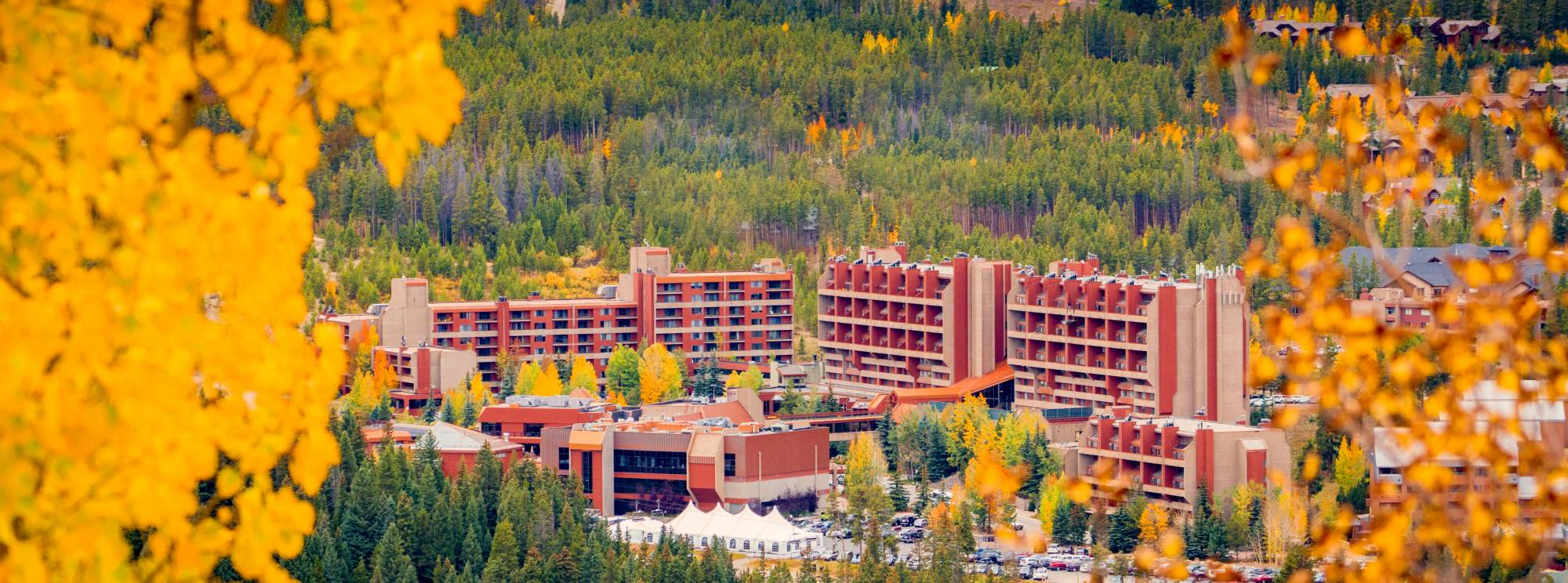 Beaver Run Resort in Fall
