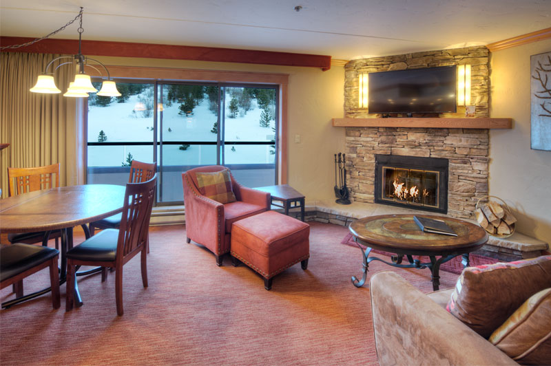 Summit Suite Living Room at Beaver Run Resort Breckenridge