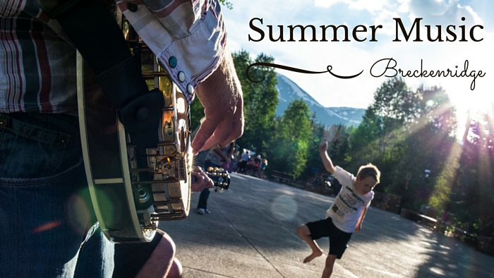 Summer music in breckenridge