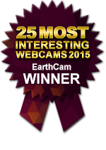 Winner EarthCam's 25 Most Interesting Webcams 2015