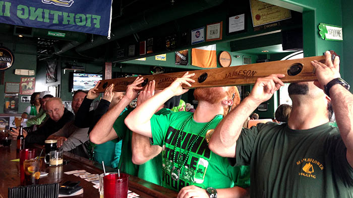Shot ski burke and rileys