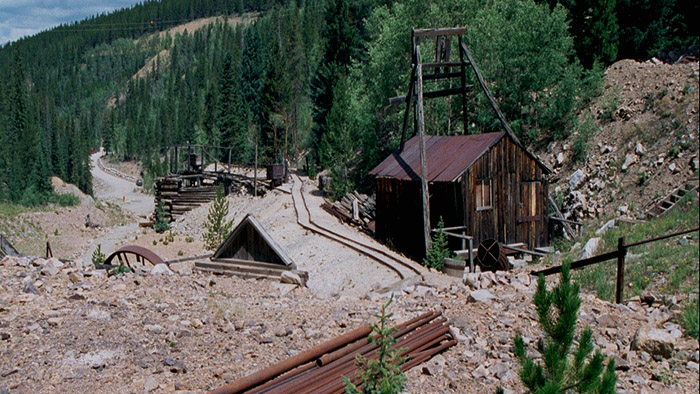 historical mine breckenridge