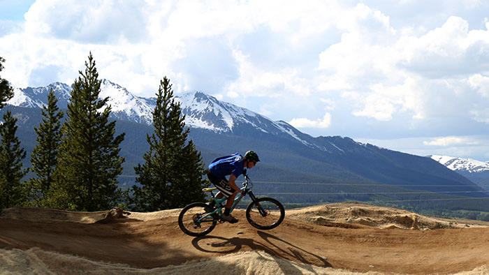 mountain biking breckenridge